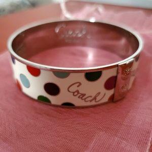 COACH | Enamel Polka Dot Bracelet